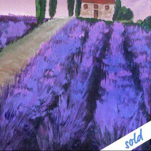 Fluchtpunkt Lavendel